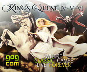 Buy King's Quest 4+5+6 from GOG.com