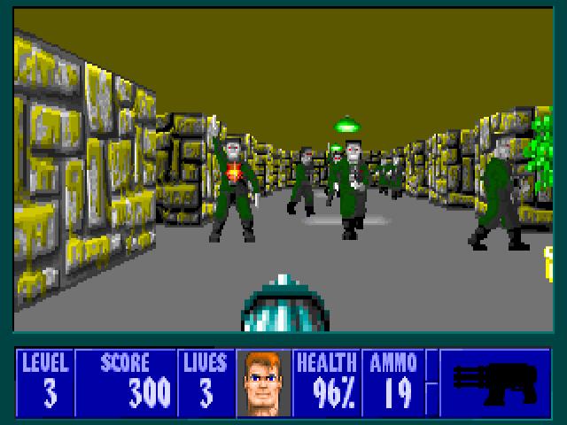 Wolfenstein 3d my abandonware.
