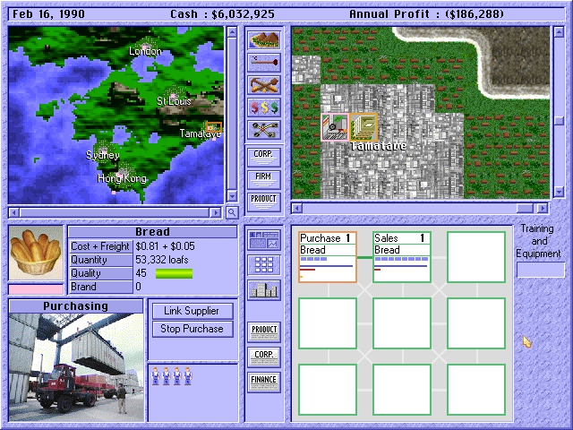 Download Capitalism | DOS Games Archive