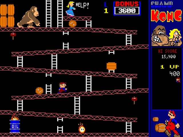 Download CHAMP Kong | DOS Games Archive