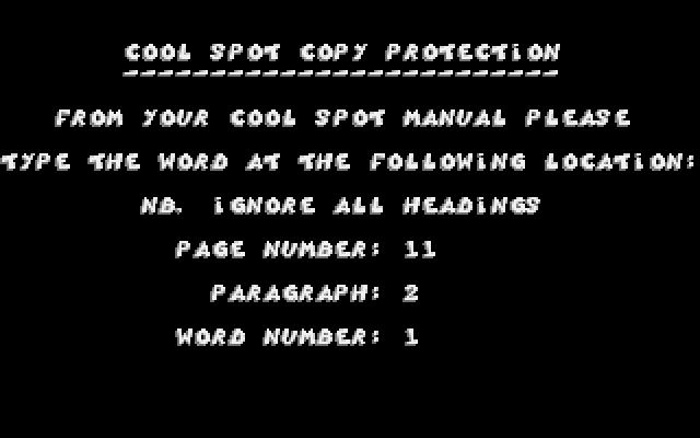 Cool Spot (free) download Windows version