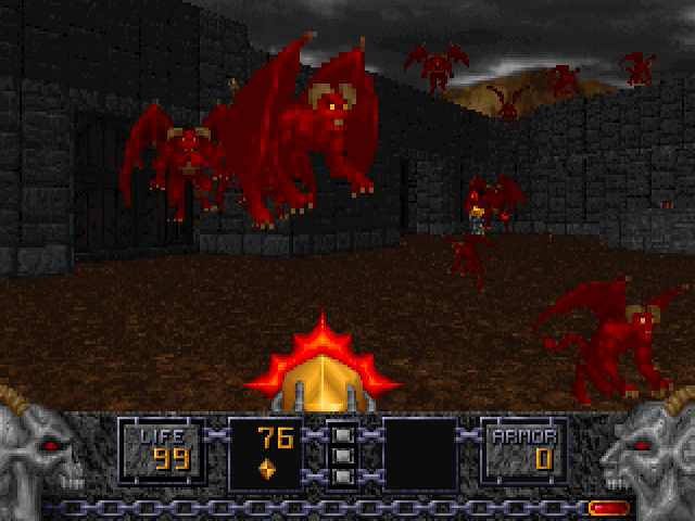 Heretic Dos Game