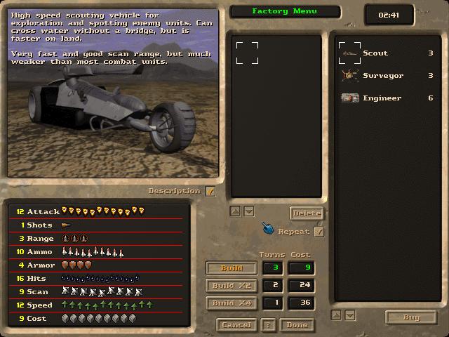 M.A.X. 2 gameplay (Max 2) [Mechanized Assault