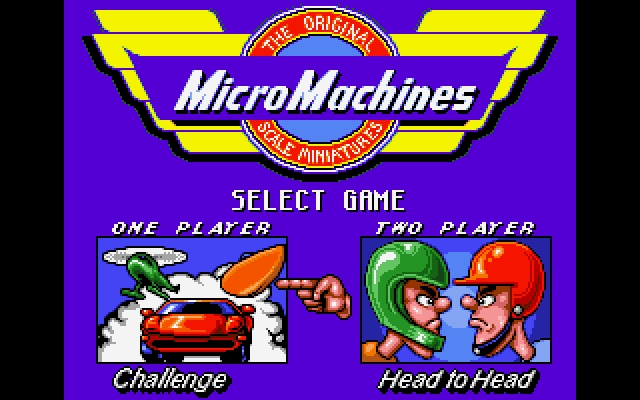 Download Micro Machines | DOS Games Archive