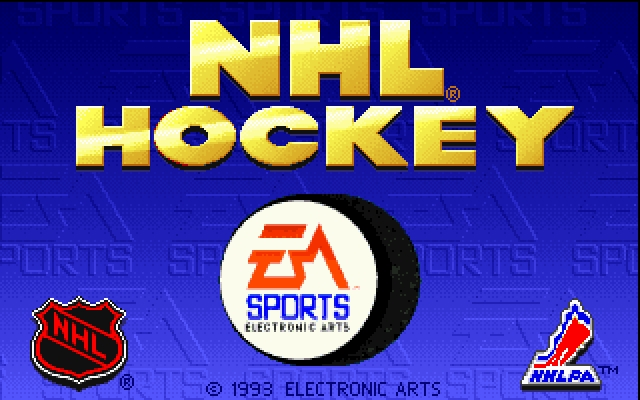 Download NHL Hockey | DOS Games Archive