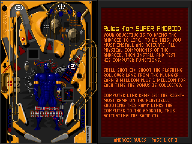 Download Epic Pinball | DOS Games Archive