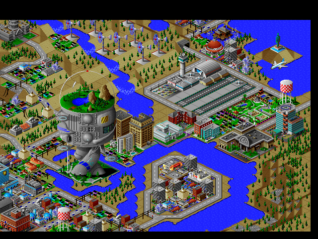 My Sims City: Download SimCity 2000 DOS Games Archive