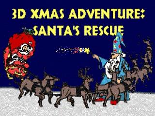 3D Xmas Adventure: Santa's Rescue