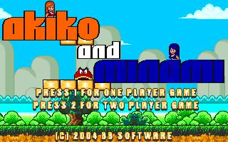 Akiko and Minami