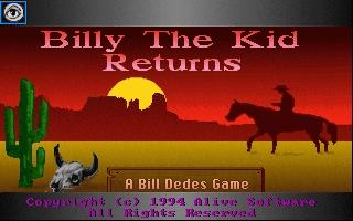 Billy the Kid Returns!