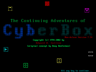 The Continuing Adventures of CyberBox