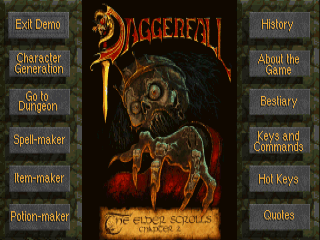 The Elder Scrolls: Daggerfall Interactive Demo