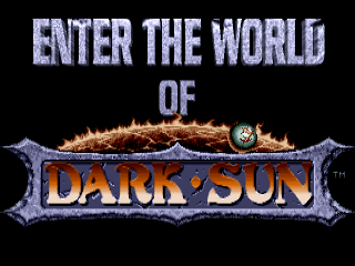 Dark Sun: Shattered Lands