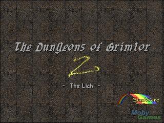 The Dungeons of Grimlor II