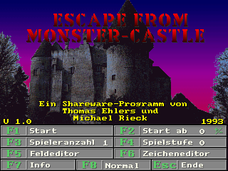 Escape from Monster-Castle