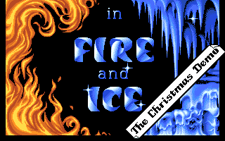 Fire and Ice: The Christmas Demo