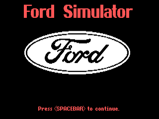 Ford Simulator