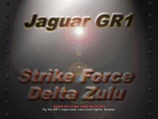 Jaguar GR1: Strike Force Delta Zulu