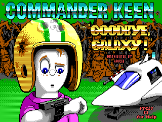 Commander Keen: Goodbye, Galaxy!