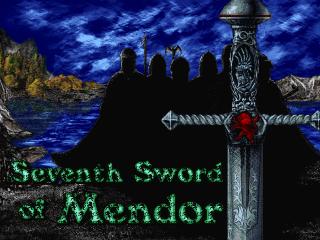 The Seventh Sword of Mendor