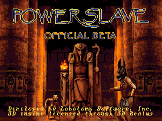 Powerslave Official Beta