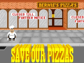 Skunny: Save our Pizza's