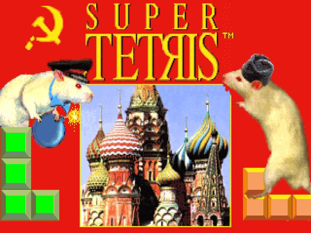 Download Super Tetris | DOS Games Archive