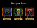 Ally yourself with one of the great houses. Each has different resources and tactics to draw upon. (image by Westwood Studios)