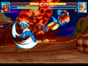 Zhang Fei is about to be brushed aside by Huang Gai's Sky Sweeper (image by Super Fighter Team)