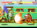 Indian Joe unleashes his Powerful Shockwave against Bullet (image by Super Fighter Team)